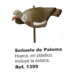 COMPRAR COMPLEMENTOS CAZA SEÑUELO PALOMA HUECA EN PLÁSTICO.