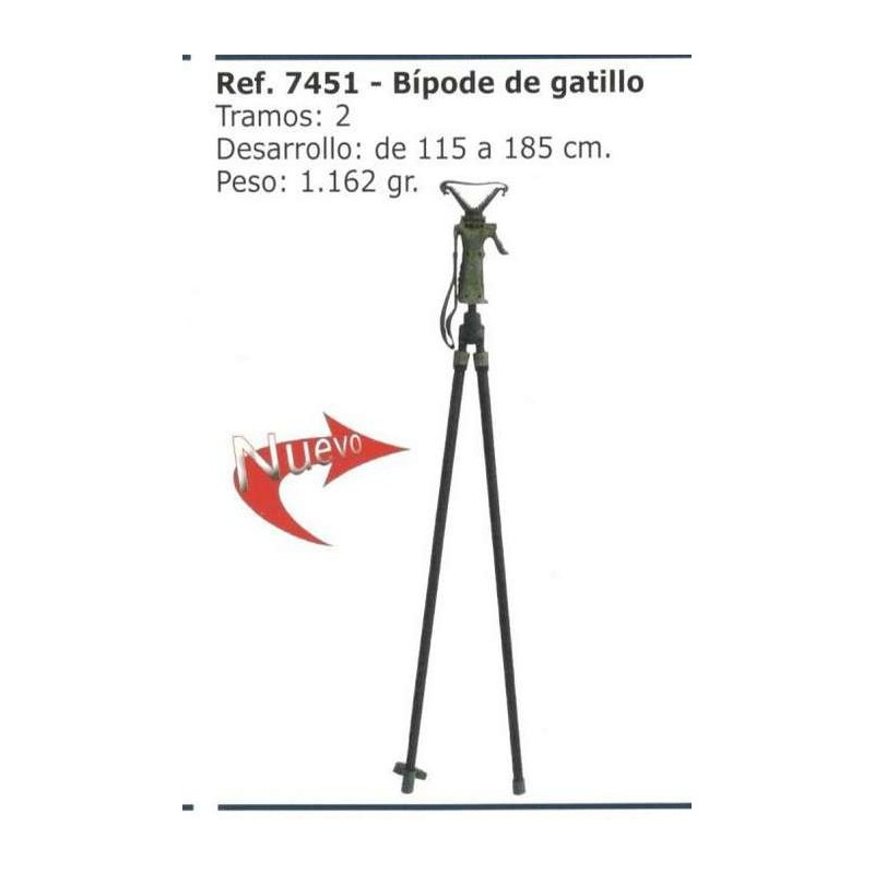 COMPRAR COMPLEMENTOS CAZA EISPORT BÍPODE DE GATILLO