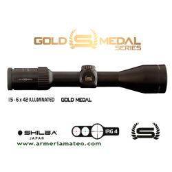 COMPRAR OPTICA VISOR SHILBA GOLD MEDAL 1,5-6X42 IRG 4
