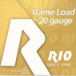 COMPRAR CARTUCHOS RIO CAL.20 GAME LOAD 28GR