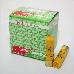 COMPRAR CARTUCHOS ARMUSA PLA-1 CAL. 20 /76 PLA-1 Mágnum 34 gramos