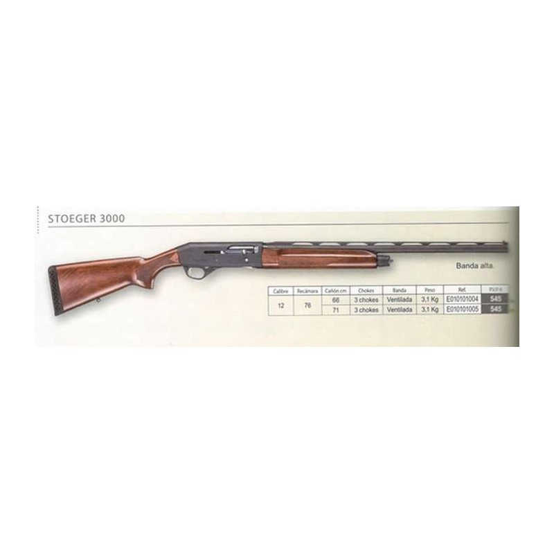 COMPRAR ARMAS ESCOPETA STOEGER SAUT M3000 CAL.12 CAÑO 66CM