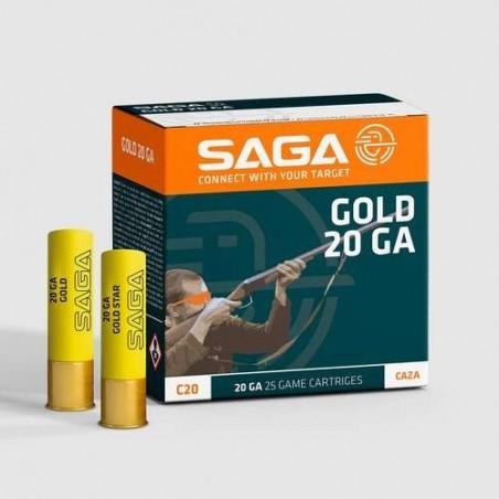 COMPRAR CARTUCHOS SAGA GOLD CAL.20 28GR