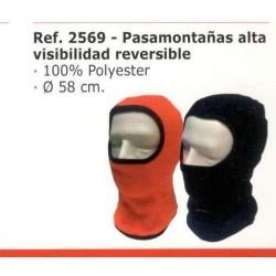 COMPRAR COMPLEMENTOS ROPA PASAMONTAÑAS ALTA VISIBILIDAD REVERSIBLE