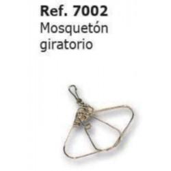 COMPRAR COMPLEMENTOS CAZA MOSQUETON GIRATORIO REF: 7002