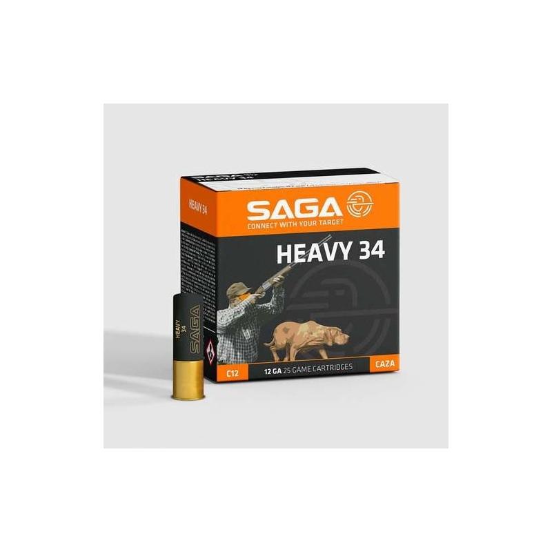 COMPRAR CARTUCHOS SAGA HEAVY 34 GRAMOS
