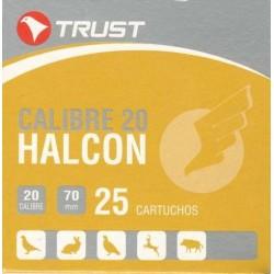 COMPRAR CARTUCHOS TRUST HALCON CALIBRE 20 BALA.