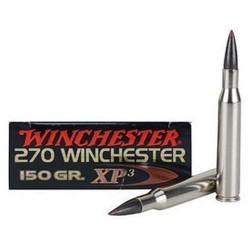 COMPRAR MUNICION METALICA BALA WINCHESTER XP3 CAL.270 WIN 150GR