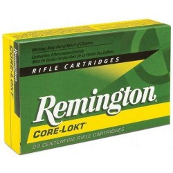 COMPRAR MUNICION METALICA REMINGTON CORE-LOKT 30-06 150GR PUNTA PSP