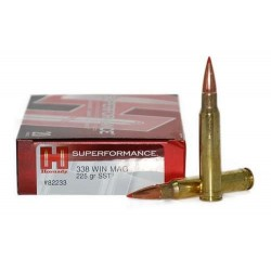 COMPRAR MUNICION METALICA HORNADY BALA SUPERFORMANCE SST 338 WM 225GR