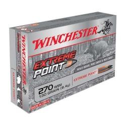 COMPRAR MUNICION METALICA WINCHESTER BALA EXTREME POINT 270 WSM 130GR