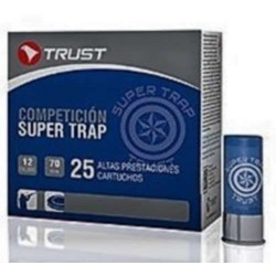 COMPRAR CARTUCHOS TRUST SUPER TRAP COMPETICIÓN 24GR PERDIGON 7,5