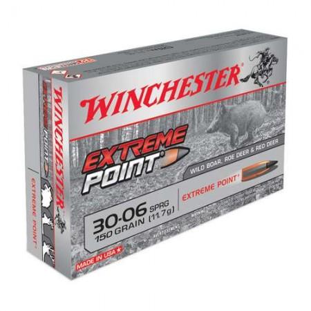 COMPRAR MUNICION METALICA WINCHESTER EXTEME POINT CAL 30-06 150GR