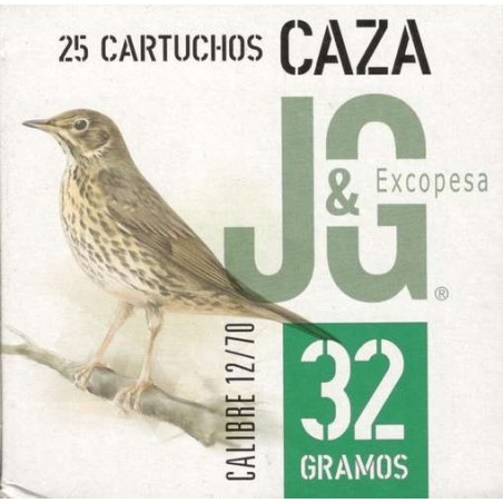 COMPRAR CARTUCHOS Jg T-2 32 Gr