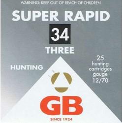 GB SUPER RAPID 34 G