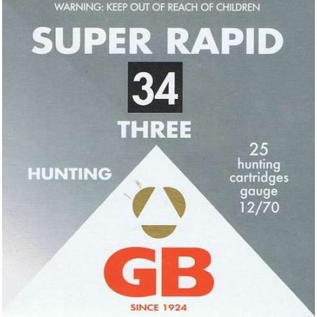 COMPRAR CARTUCHOS GB SUPER RAPID 34 G