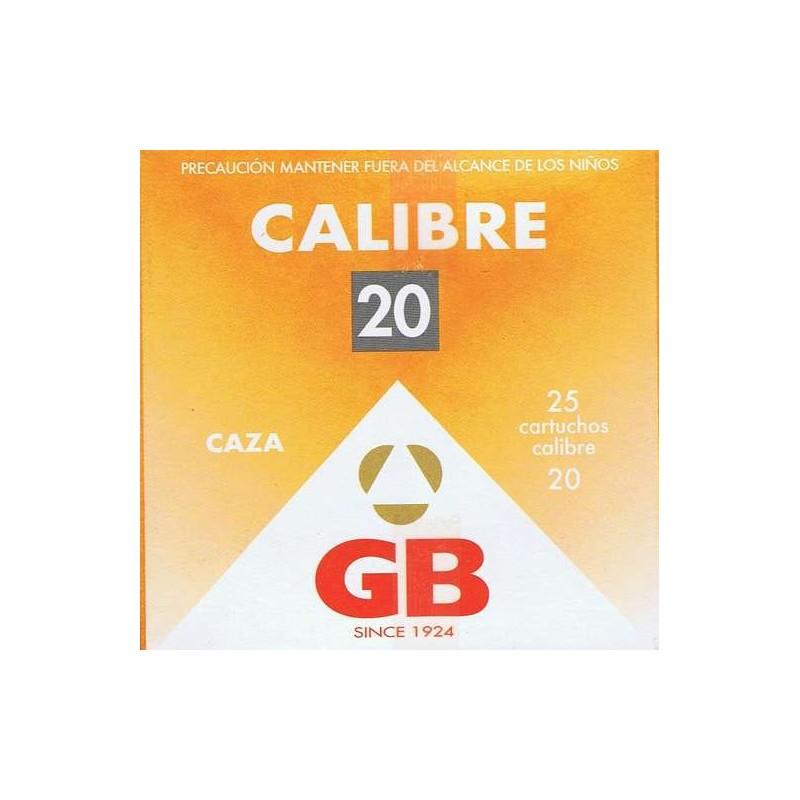 COMPRAR CARTUCHOS GB CALIBRE 20 DE 28 GR