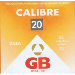 GB CALIBRE 20 DE 30 GR