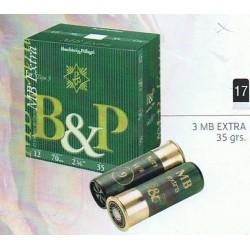 COMPRAR CARTUCHOS B&P 3MB EXTRA 35 GR