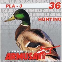COMPRAR CARTUCHOS ARMUSA PLA-3 36 GR PERDIGON Nº 0