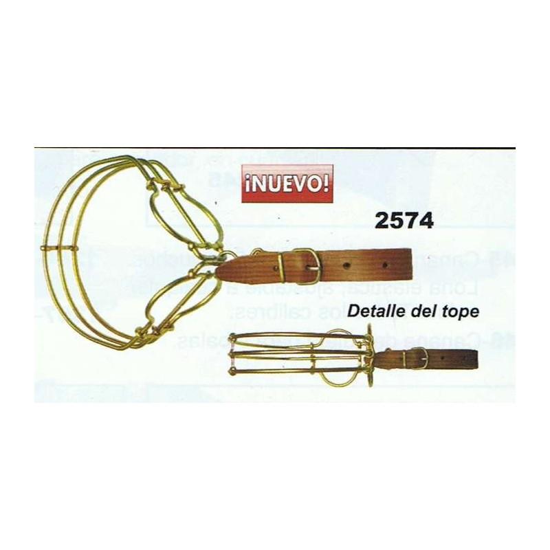 COMPRAR COMPLEMENTOS CAZA GIL PORTACAZAS NIQUELADO DOBLE REF:2574
