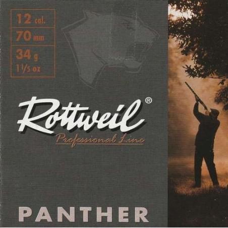 COMPRAR CARTUCHOS ROTTWEIL PANTHER 34 GRAMOS