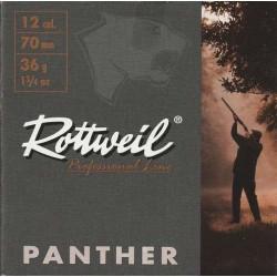 COMPRAR CARTUCHOS ROTTWEIL PANTHER 36 GRAMOS