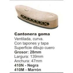COMPRAR REPUESTOS GIL CANTONERA GOMA REF:410N (NEGRA)